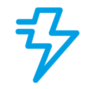 avbrottsfri kraft ikon