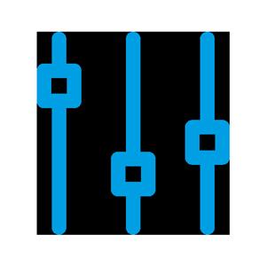 ljud och bild ikon